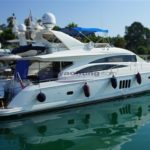 Princess Yachts 67 usato motore fly